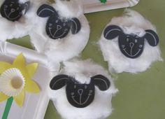Ovečka - jarné aktivity pre deti Spring Crafts, Montessori, Jar, Sabbath, School, Jars, Glass