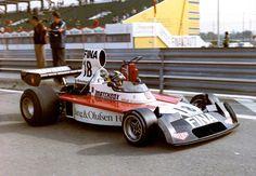 1974 GP Hiszpanii (Carlos Pace) Surtees TS16 - Ford