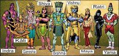 Image result for hindu god 6 arms