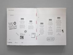 Society of Graphic Designers of Canada Annual Report by Janice Wong, via Behance