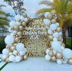 40th Party Ideas, New Years Eve Party Ideas Decorations, Balloon Decorations Party, Birthday Party Decorations, Wedding Decorations, Balloon Ideas, 75th Birthday Parties, Grad Parties, 8th Birthday