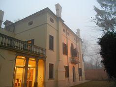 casa museo Giacomo Matteotti e nebbia a Fratta Polesine