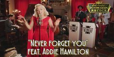 """20's remake of """"Never forget you"""" feat. Addie Hamilton - http://postmodernjukebox.com/post/1920s-remake-never-forget-ft-addie-hamilton/"""