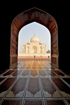 Taj Mahal in Agra, India. The Taj Mahal in Agra, India.The Taj Mahal in Agra, India. Beautiful Places In The World, Places Around The World, The Places Youll Go, Places To See, Around The Worlds, Taj Mahal, Largest Countries, Countries Of The World, Islamic Architecture