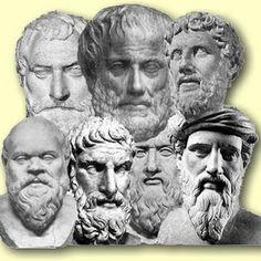 La filosofía presocrática es el período de la historia de la filosofía griega que se extiende desde su comienzo, con Tales de Mileto (nacido en el siglo VII a. C.), hasta las últimas manifestaciones del pensamiento griego no influidas por el pensamiento de Sócrates, aún cuando sean cronológicamente posteriores a él.