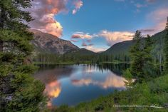 Officers Gulch, Summit County, Colorado — by Brendan Caffrey. Officer's Gulch Pond, right off the highway between Frisco and Copper Mtn, CO. Glad I finally stopped after 6 years...