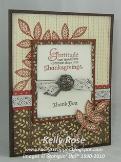 stampinup day of gratitude - Google Search