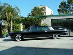 1964 Chrysler Imperial limousine by Ghia Chrysler Limousine, Chrysler Imperial, Sweet Cars, Unique Cars, Car Car, Hot Cars, Plymouth, Mopar, Luxury Cars