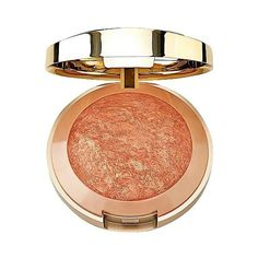 Milani Baked Blush Bellissimo Bronze . oz (53 DKK) ❤ liked on Polyvore featuring beauty products, makeup, cheek makeup, cheek bronzer, beauty and bellissimo bronze