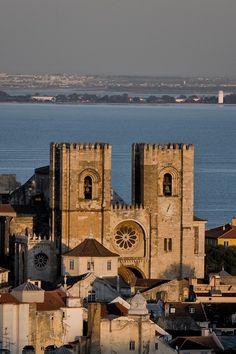 The cathedral Sé, Lisboa, Lisbon, Portugal