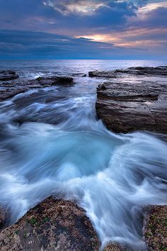 Wombarra, Illawarra Coast, New South Wales  #seascape #sunrise