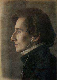 Chopin Anew by Jan Nyka Best Classical Music, Classical Music Composers, Frederick Chopin, Figure Sketching, Portraits, Aesthetic People, Music Memes, Art Graphique, Post Punk
