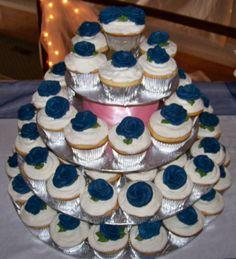 Navy Cupcakes