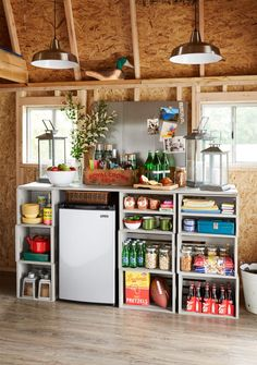 Turning your storage space into a backyard party room is easier than you think! Click through to our blog to learn how to make a pub shed of your own.