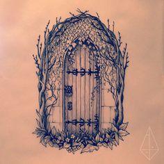 """""""The Secret Garden inspired, for Kaitlin"""""""
