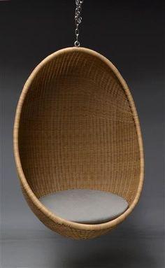 Etonnant Egg Shaped Hanging Chair