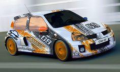 Auto • Renault Clio Racingdesign