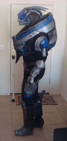 Garrus cosplay. Best thing I've ever seen.