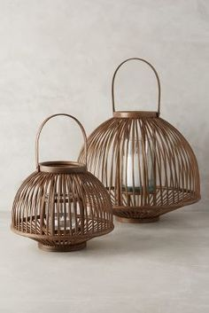 Stunning Bamboo Lantern Design Ideas You Will Amazed - Lantern Candle Holders, Candle Lanterns, Casa Cook, Bamboo Weaving, Chinese Furniture, Inspired Homes, Sofa Furniture, Rattan, Floor Lamp