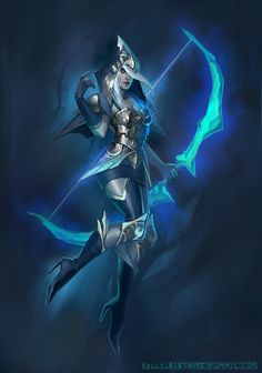 The Frost Archer by ~KJ-A on deviantART
