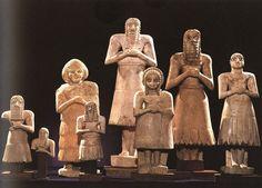 Grupo de orantes de Tell-Asmar (Período dinástico arcaico, h. 2700 a.C.)