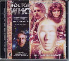 Dr Doctor Who Masquerade Audio CD Mint Davidson Nyssa   eBay