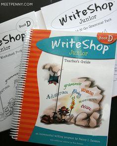 How to Use the WriteShop Homeschool Writing Program