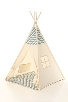 Kids Teepee Tent Plain cotton indoor children's tipi by meiddeco