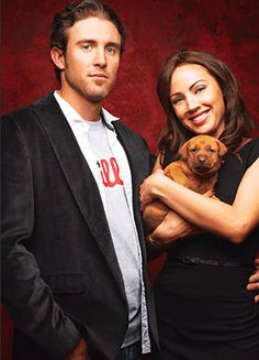 Phillies slugger Chase Utley married Jennifer in January 2007. Avid animal lovers, both are heavily involved with Philadelphia charities. Jennifer helps sponsor events to adopt pets each year at Citizens Bank Park with the other players' wives.