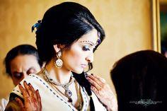Love her look via Maharaniweddings.com