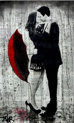 let it rain by Loui  Jover