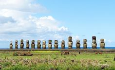 No one knows exactly why nearly 900 gargantuan stone monoliths are sprinkled across Easter Island, thousands of miles off the coast of South America--and those long stone faces aren't talking. (From: 10 Islands to See Before You Die)