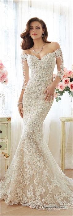 187 ideas for spring wedding dresses 2017 (162)