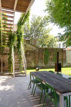 Outdoor Living, Outdoor Decor, Garden Inspiration, Exterior Design, Interior Architecture, New Homes, Home And Garden, Backyard, House Design