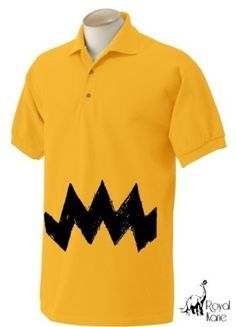 charlie brown-This is, probably, the only costume I will ever get my husband to wear.
