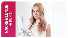 Nacre Blonde Coloring Technique How -To Wella Professionals