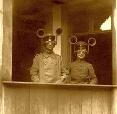 Pre-radar listening devices 1900-1945