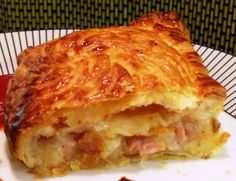 Ham, Cheese and Sweetcorn Turnovers, so quick & easy! - Fab Food 4 All Diner Recipes, Cookbook Recipes, Greek Recipes, Snack Recipes, Cooking Recipes, Empanadas, Greek Pastries, The Kitchen Food Network, Greek Cooking