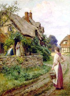 Henry John Yeend-King ~ British Painter 1855 – 1924