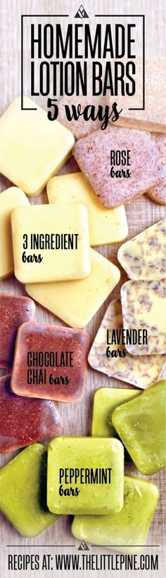 Top 5 Lotion Bar Recipes
