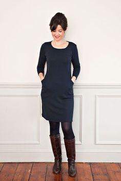 Heather Dress Sewing Pattern Dressmaking Patterns from Sew Over It Sewing Patterns Free, Free Sewing, Sewing Tutorials, Clothing Patterns, Sewing Tips, Sewing Projects, Knitting Dress Pattern, Women's Sewing Patterns, Dress Pattern Free