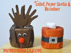 Toiletpaper christmas craft - Google Search