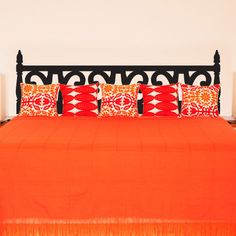 Queen Carved Wood Headboard Wall Decal