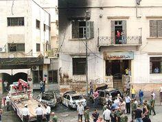 Bombas de barril crean terror en Siria