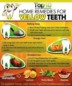 Yellow teeth hack