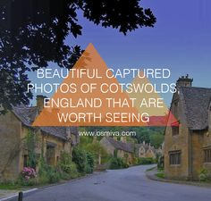 Get amazing inspiration to visit Cotswolds, England through this amazing compilation from talented photographers!