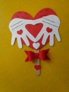 carte fête des pères - Post Tutorial and Ideas Valentine's Day Crafts For Kids, Valentine Crafts For Kids, Fathers Day Crafts, Sunday School Crafts, Saint Valentine, Valentines Day Party, Toddler Crafts, Preschool Crafts, Holiday Crafts