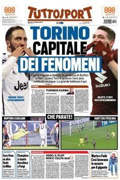 TuttoSport prima pagina oggi 14 febbraio 2017 http://ift.tt/2lIY1PP