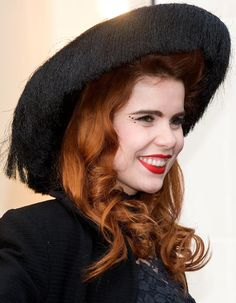 20 Dazzling Ways to Wear Red Hair: Paloma Faith