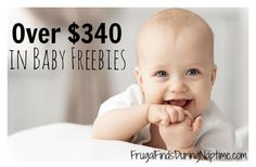 Having a baby can be expensive. You can grab over $340 in baby freebies to help you save some money!